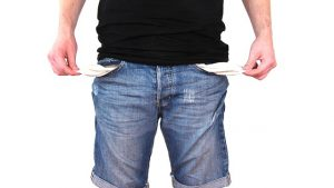 Prázdne vrecká neplatiča